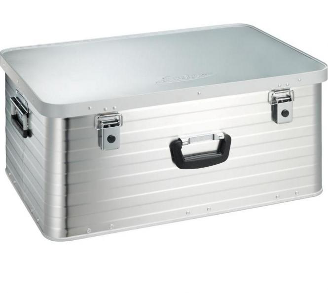 Enders Aluminium Stapelbox Toronto XL (80 l) mit Sicherheitsgriff