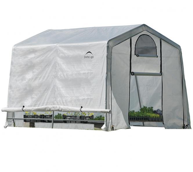 shelterlogic foliengew chshaus 9m 300x300 cm mygardenhome. Black Bedroom Furniture Sets. Home Design Ideas