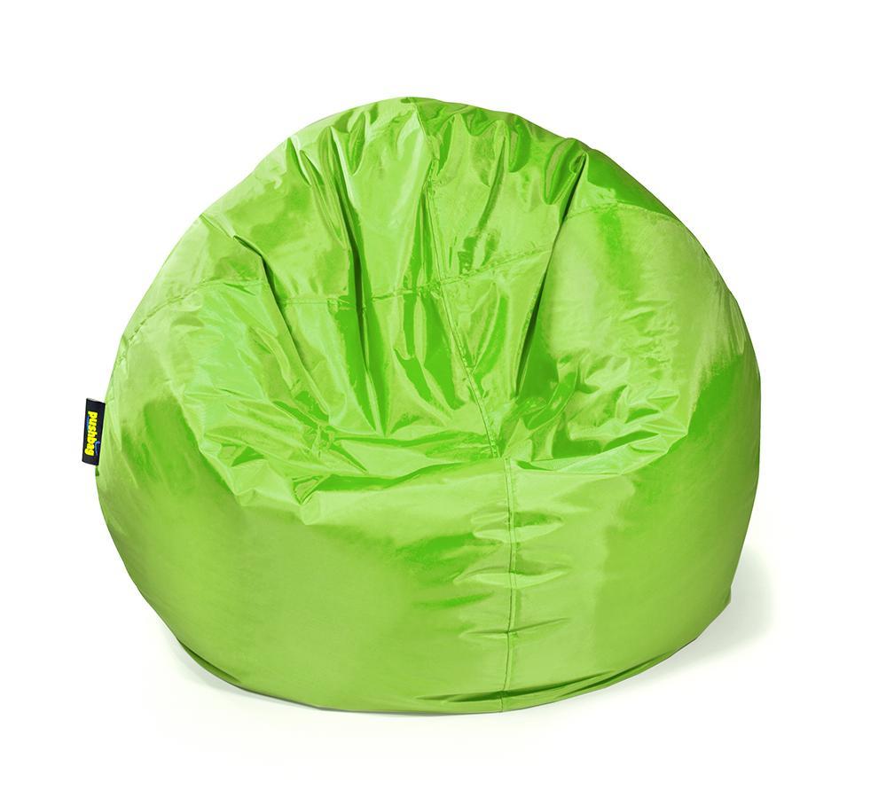 pushbag sitzsack sitzkissen bag 500 oxford lime. Black Bedroom Furniture Sets. Home Design Ideas