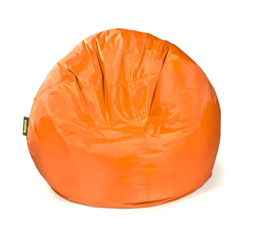 pushbag sitzsack sitzkissen bag 500 oxford orange. Black Bedroom Furniture Sets. Home Design Ideas
