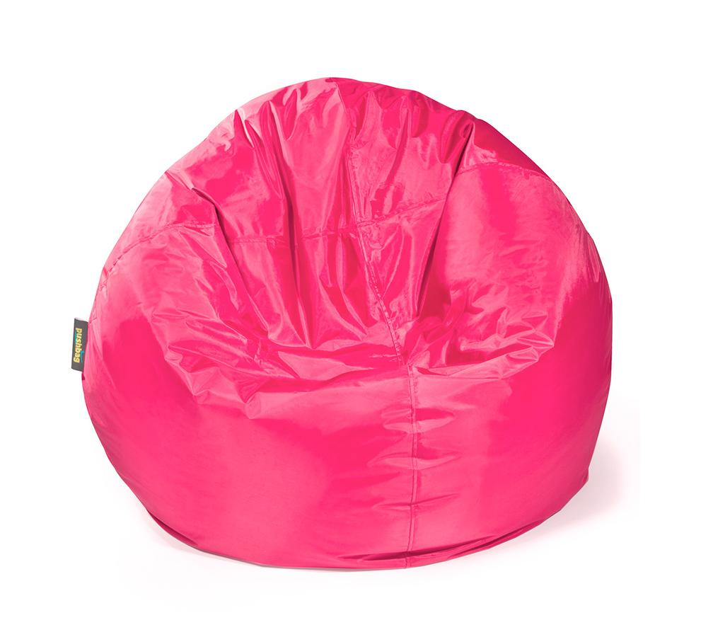 pushbag sitzsack sitzkissen bag 500 oxford pink mygardenhome. Black Bedroom Furniture Sets. Home Design Ideas
