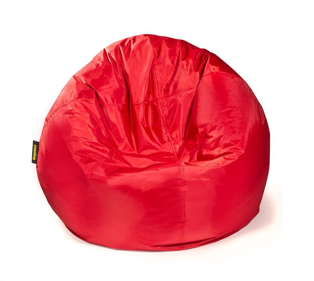 pushbag sitzsack sitzkissen bag 500 oxford rot mygardenhome. Black Bedroom Furniture Sets. Home Design Ideas