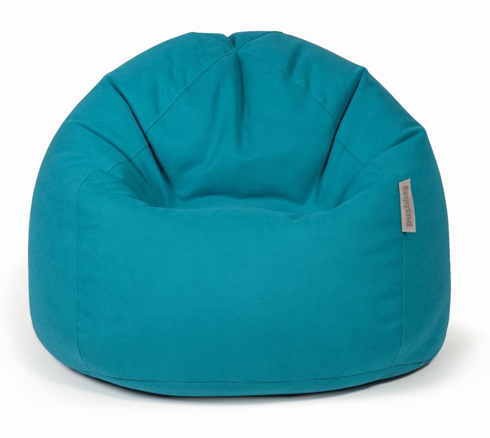 pushbag sitzsack sitzkissen bag 500 soft petrol blau. Black Bedroom Furniture Sets. Home Design Ideas