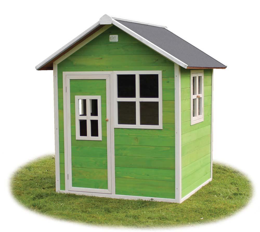 exit kinderspielhaus loft 100 gr n inkl 3 fenster. Black Bedroom Furniture Sets. Home Design Ideas