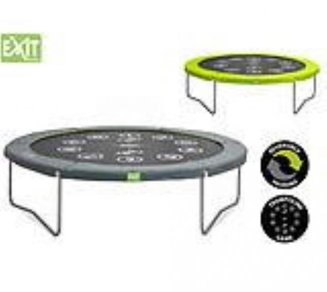 exit trampolin twist gr n grau 305 cm mygardenhome. Black Bedroom Furniture Sets. Home Design Ideas