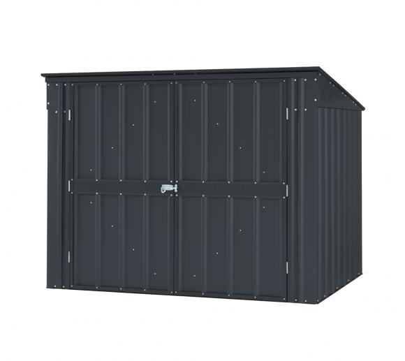 globel industries metallger tebox und m lltonnenbox 236x101 cm anthrazit mygardenhome. Black Bedroom Furniture Sets. Home Design Ideas