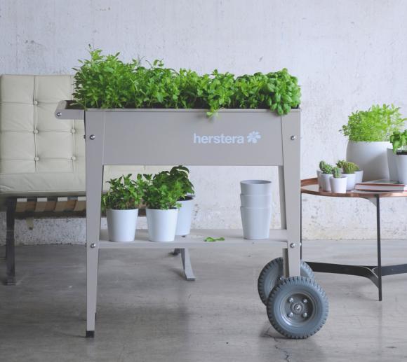 Herstera Garden Krauterfabrik Hochbeet Anzuchtbeet Barcelona Liso