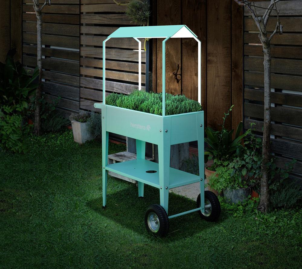 Herstera Garden Hochbeet Uberdachung Mint Passend Zu Krauterfabrik