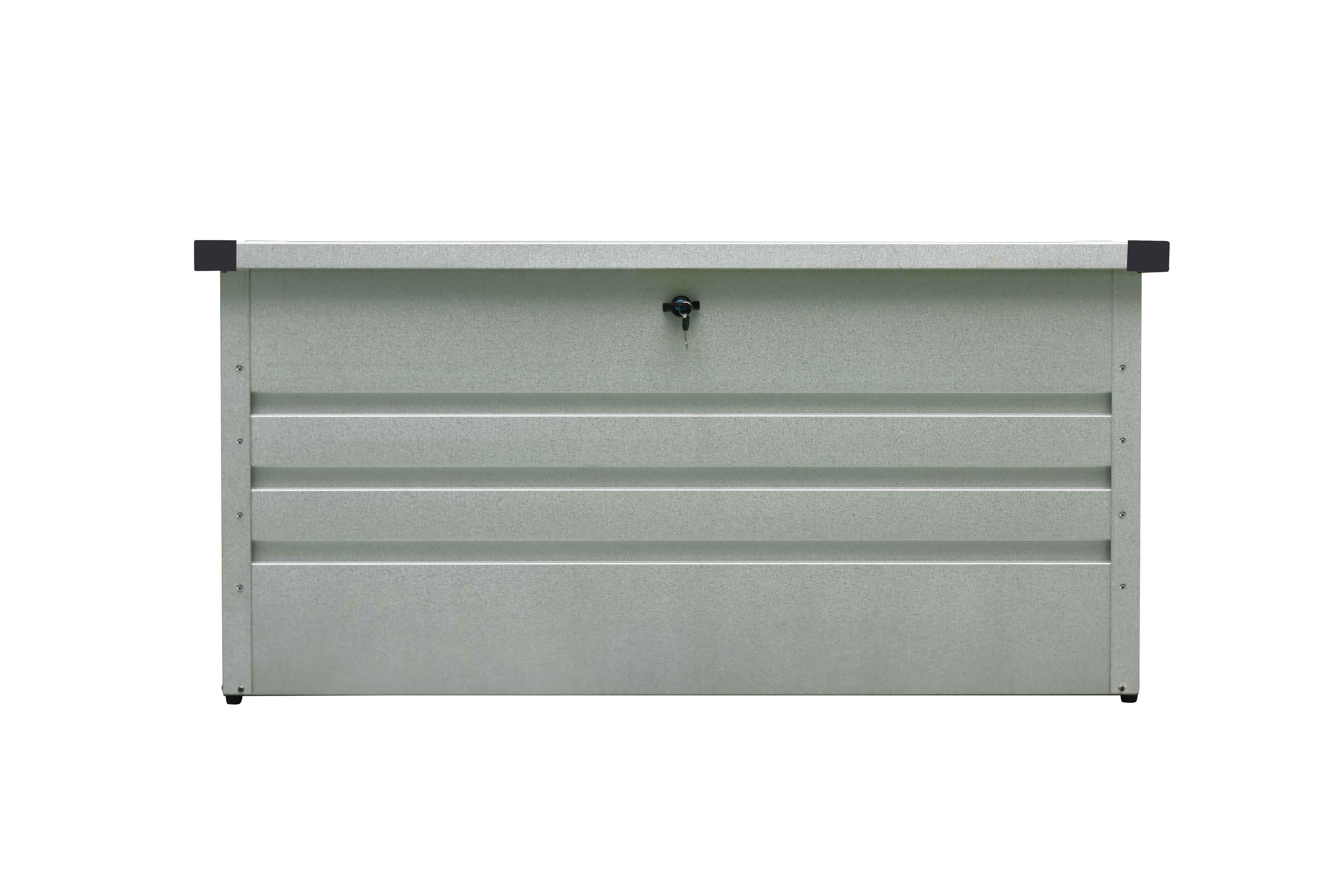 Gut gemocht Westmann Metall Kissenbox Gartenbox Auflagenbox 400 Liter Volumen WO14