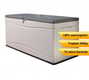 Gartenmobel Lounge Bank : Lifetime XXL Kissenbox, Gartenbox 495l AnthrazitGrau  mygardenhome