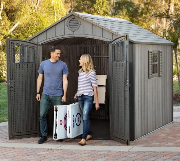 genug ger tehaus kunststoff pultdach oq45 kyushucon. Black Bedroom Furniture Sets. Home Design Ideas