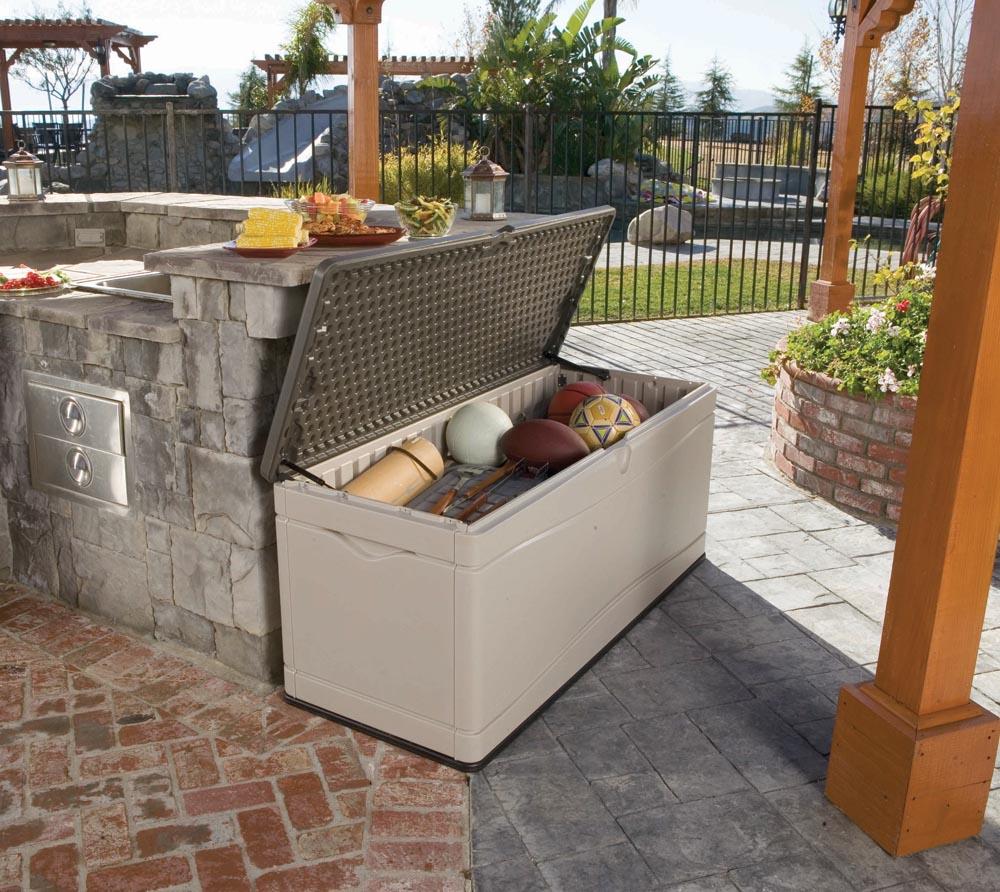 lifetime xxl kissenbox gartenbox 495l anthrazit grau. Black Bedroom Furniture Sets. Home Design Ideas