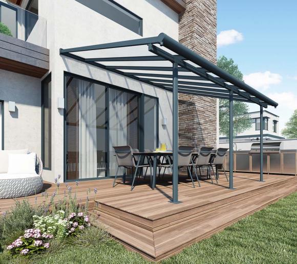 palram terrassendach terrassen berdachung sierra 299x555. Black Bedroom Furniture Sets. Home Design Ideas