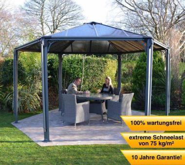 palram americas inc sonstige aluminium gazebo pavillon monaco 450x390 cm. Black Bedroom Furniture Sets. Home Design Ideas