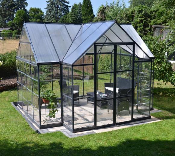 Palram Aluminium Gewachshaus Set Orangerie Victory 305x365 Cm