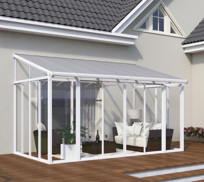 palram terrassendach wintergarten sanremo 300x430 wei. Black Bedroom Furniture Sets. Home Design Ideas