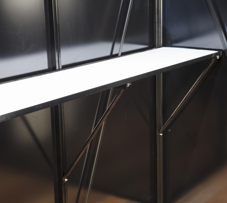 gew chshaus regal 150cm f r acd gew chsh user silber. Black Bedroom Furniture Sets. Home Design Ideas