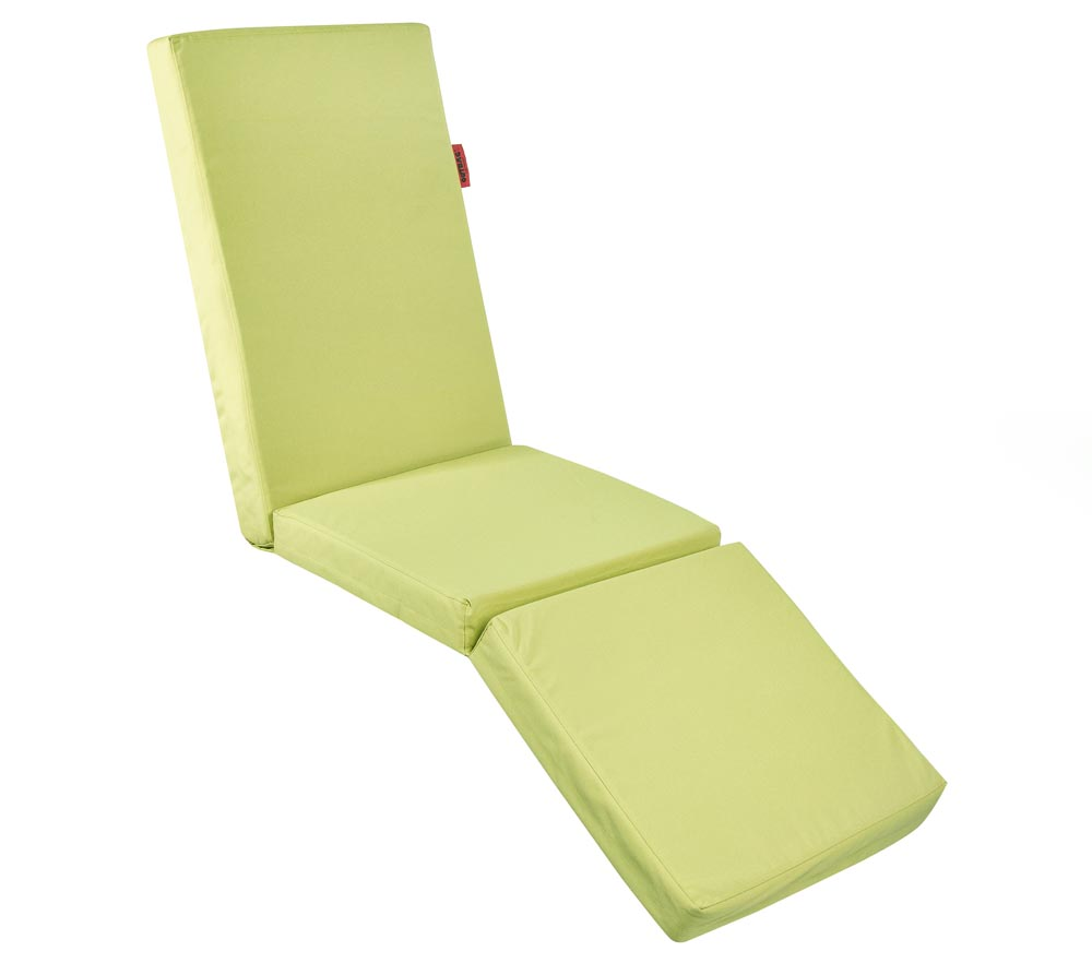 Gartenmobel Lounge Bank : Outbag Topper Auflage Hochlehner Relax Plus lime  mygardenhome