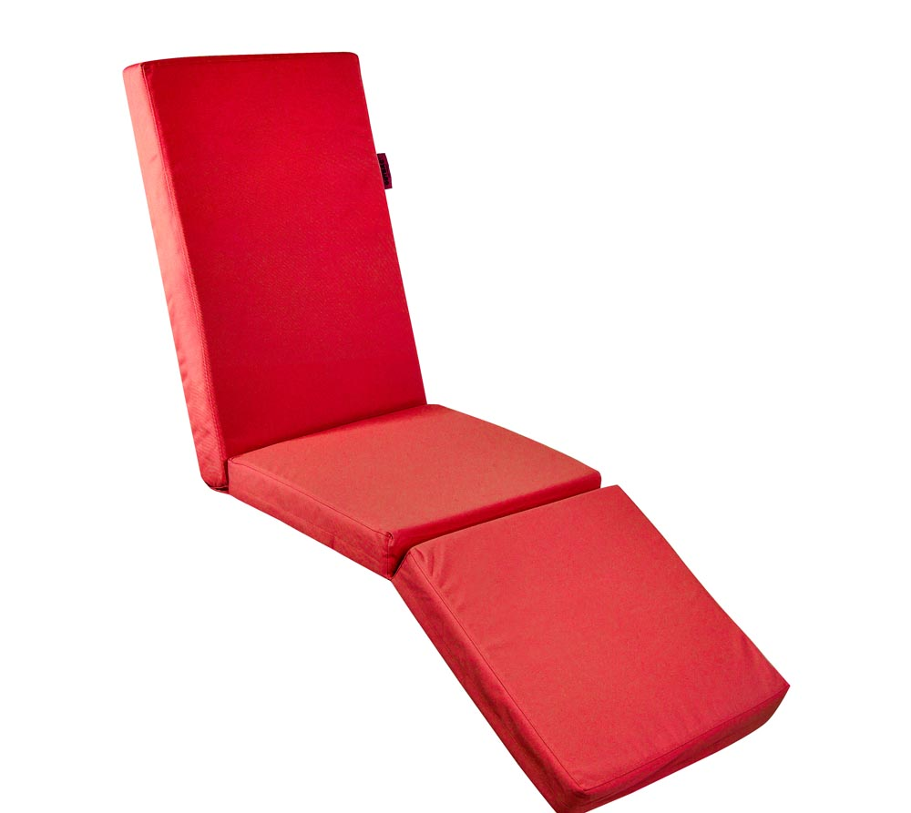 Outbag Topper Auflage Hochlehner Relax Plus rot  mygardenhome