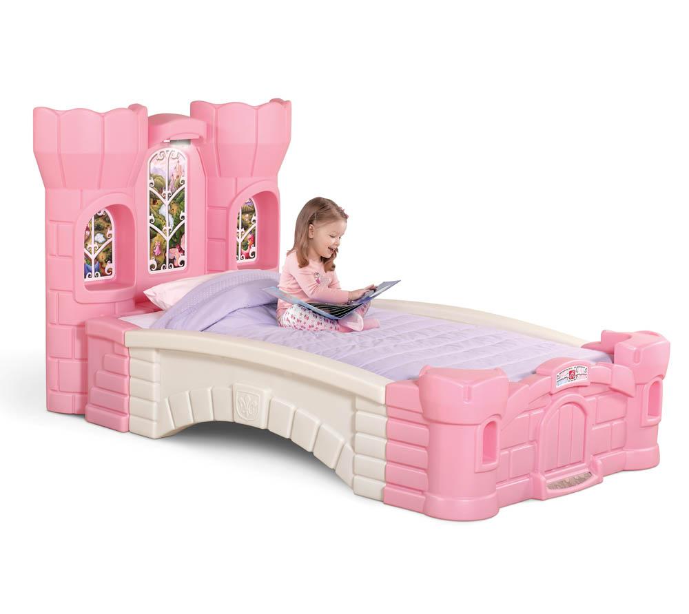 Step2 Prinzessinenbett Kinderbett Kunststoff 130x230cm