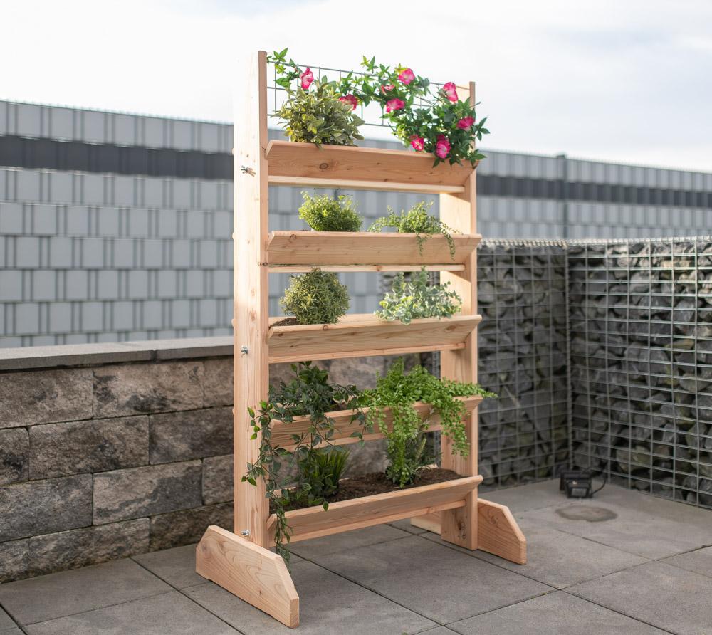 "Pflanzer /""Schubkarren/"" Garten Terrasse Blumen Pflanze Natur Balkon"