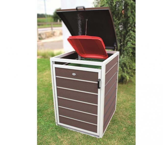prewood wpc m lltonnenbox m lltonnenverkleidung 120l. Black Bedroom Furniture Sets. Home Design Ideas