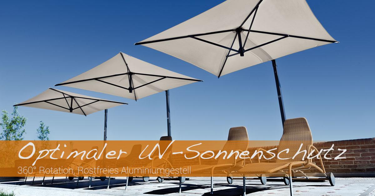 Banner Sonnenschirm